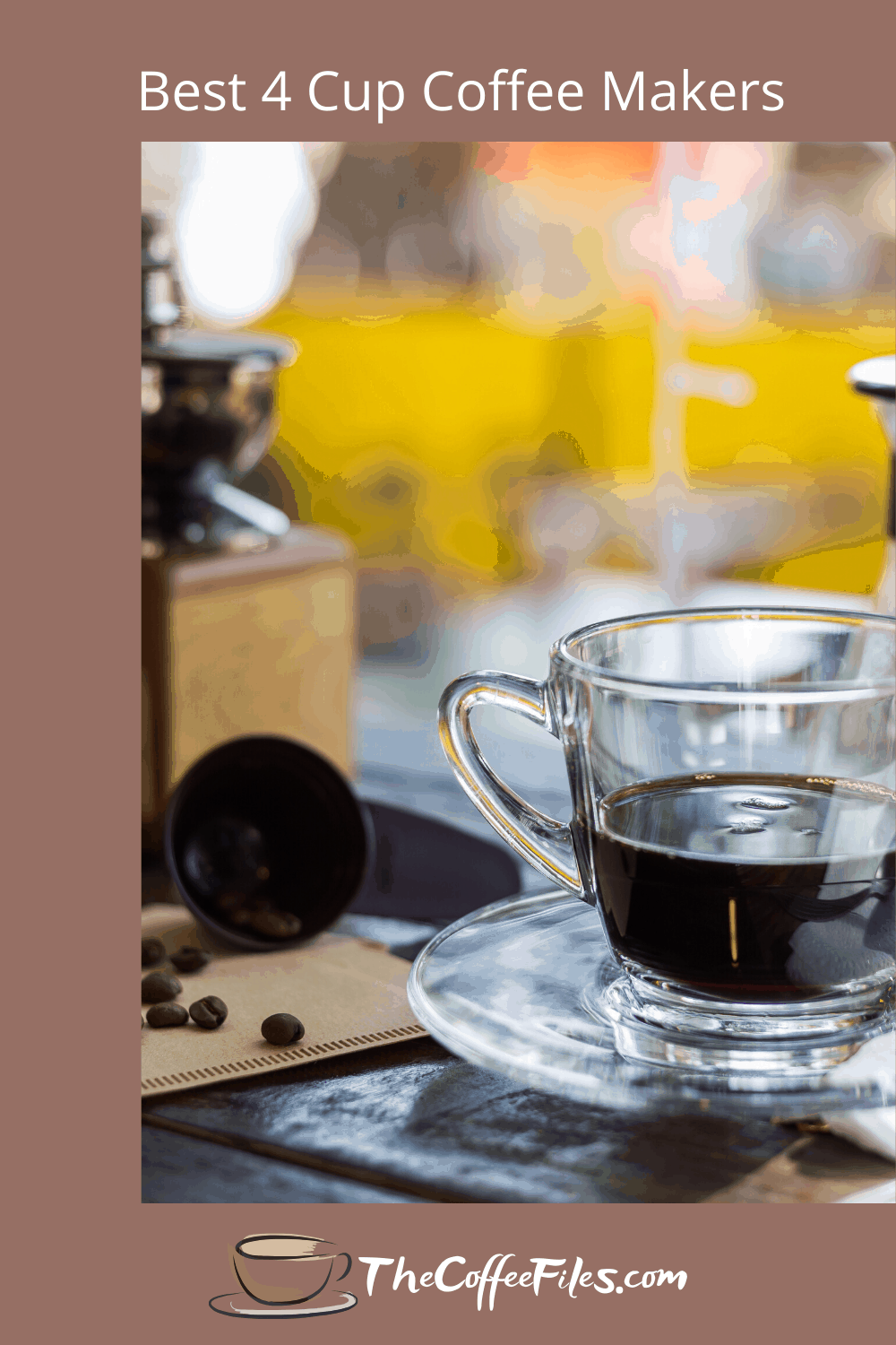 Searching for the best 4 cup coffee maker? We've done the hard work for you and have the top-rated coffee makers right here for your review. Easy peasy.