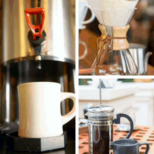 how to make strong coffee at home