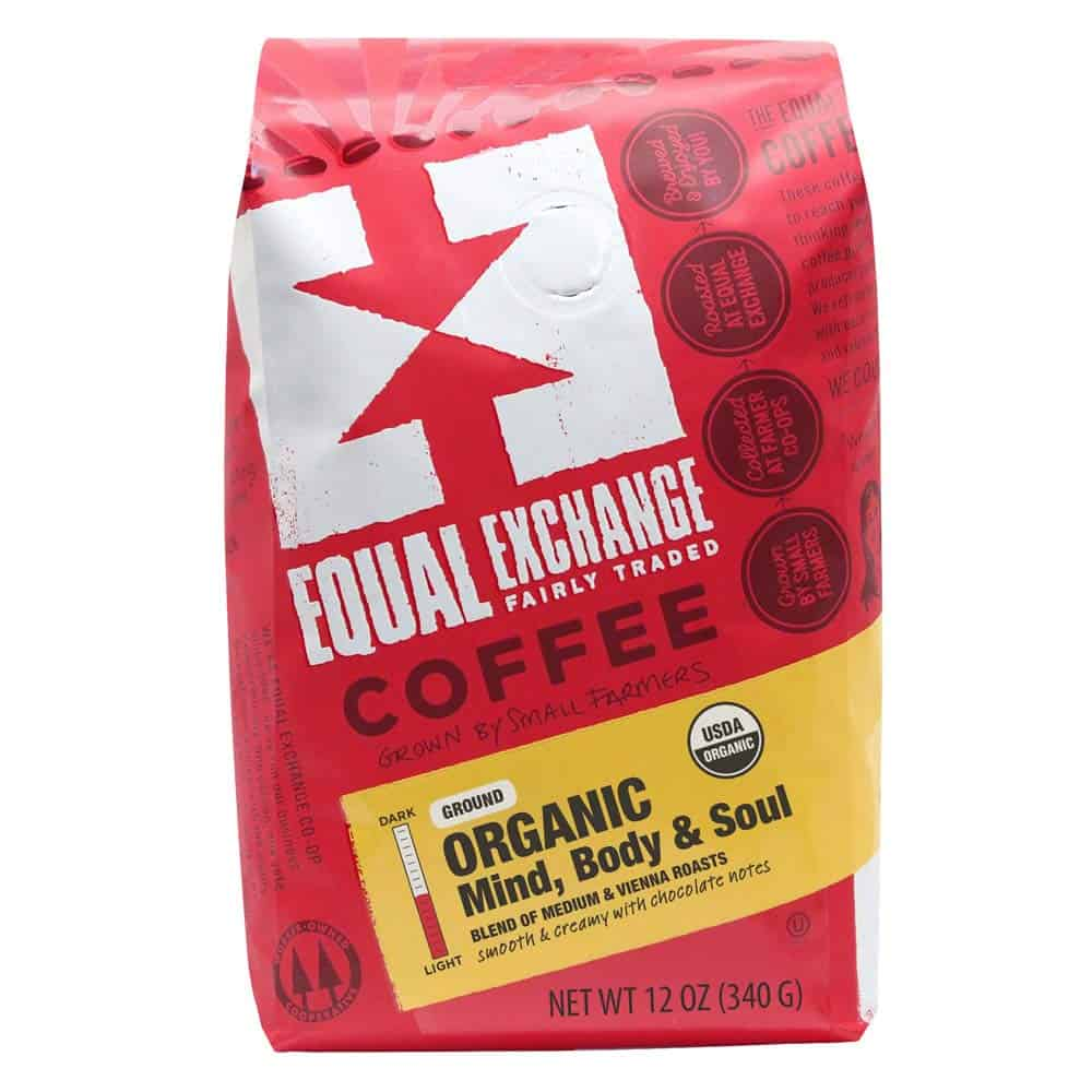 equal exchange organic coffee