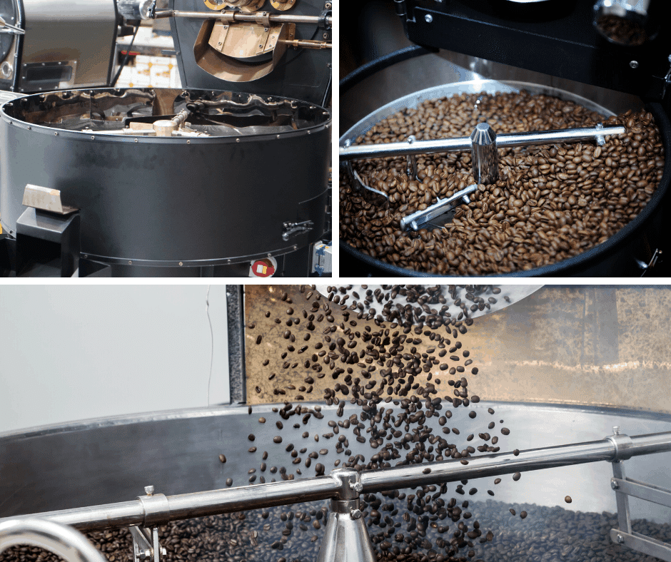how coffee is made - the commercial roasting process