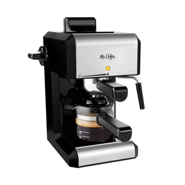 Mr Coffee Cat Steam Automatic Espresso and Cappuccino Machine