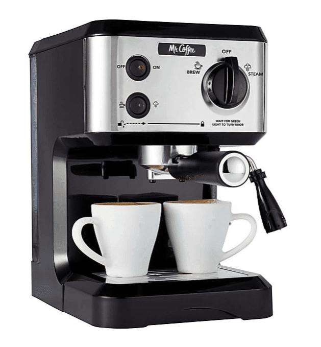 mr coffee 19 bar pump espresso machine