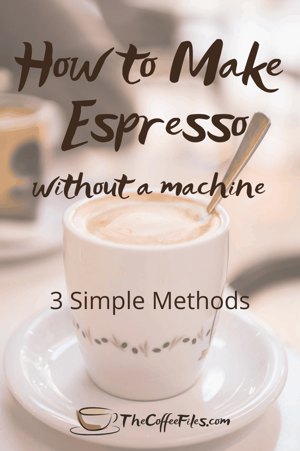 how to make espresso coffee without an espresso machine
