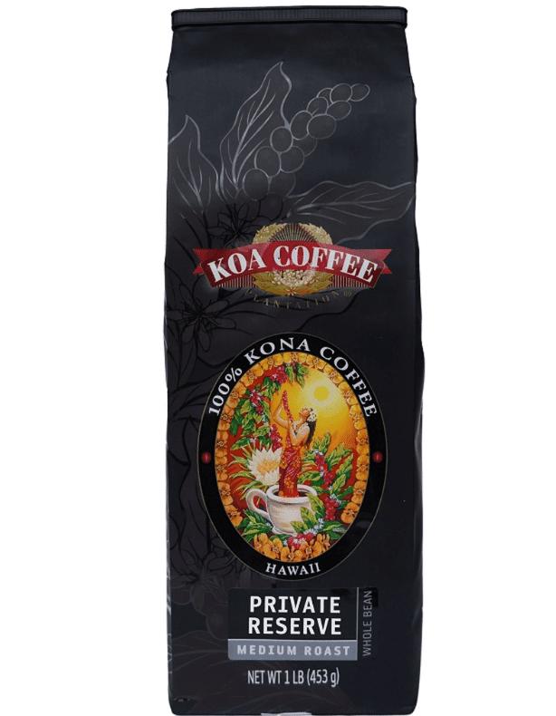 Koa Coffee Private Reserve 100% Kona Coffee