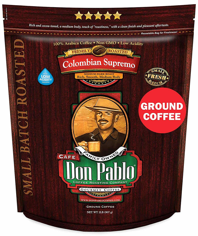 Don Pablo low acidity coffee