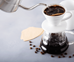 how to make pour over coffee without a scale