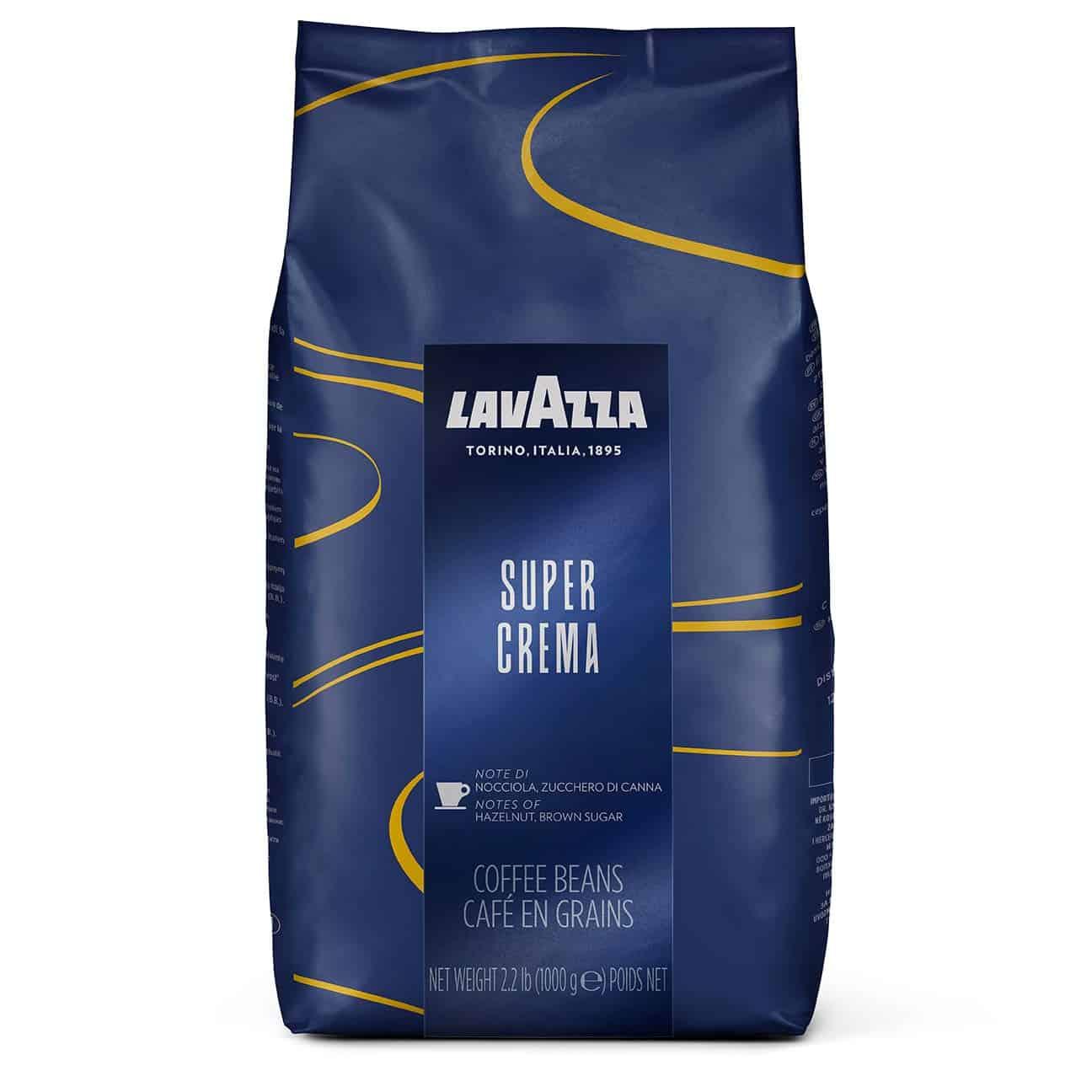 lavazza super crema medium espresso roast