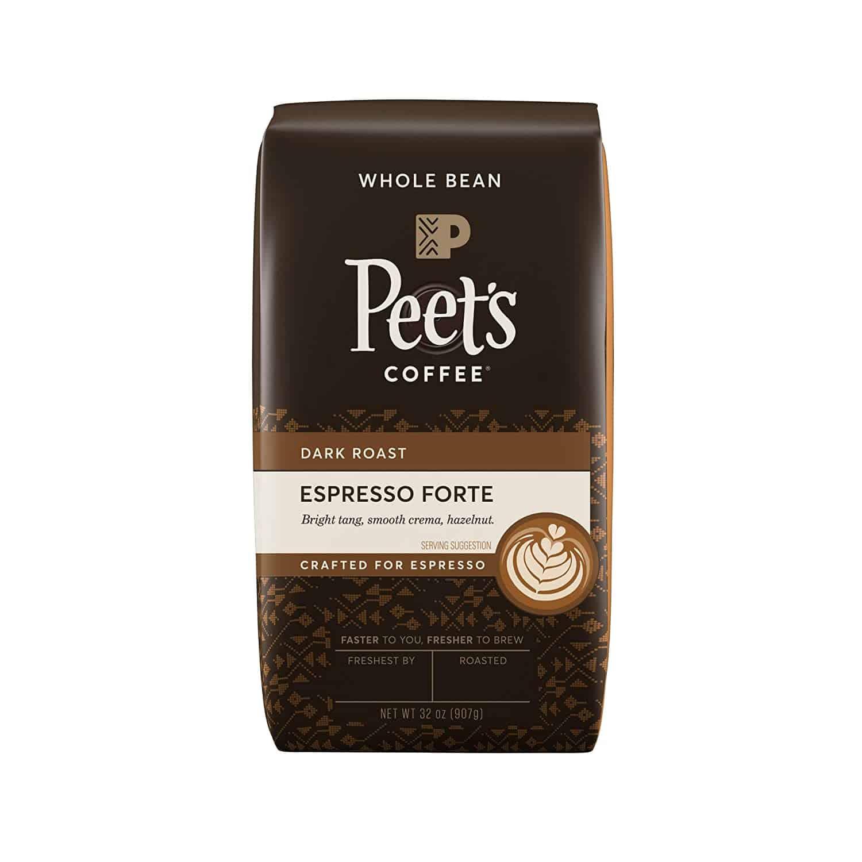 peets coffee espresso forte