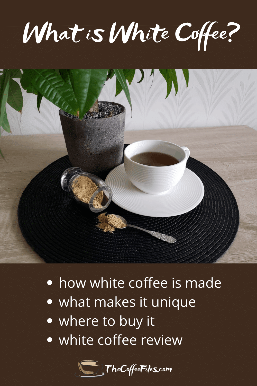 what is white coffee