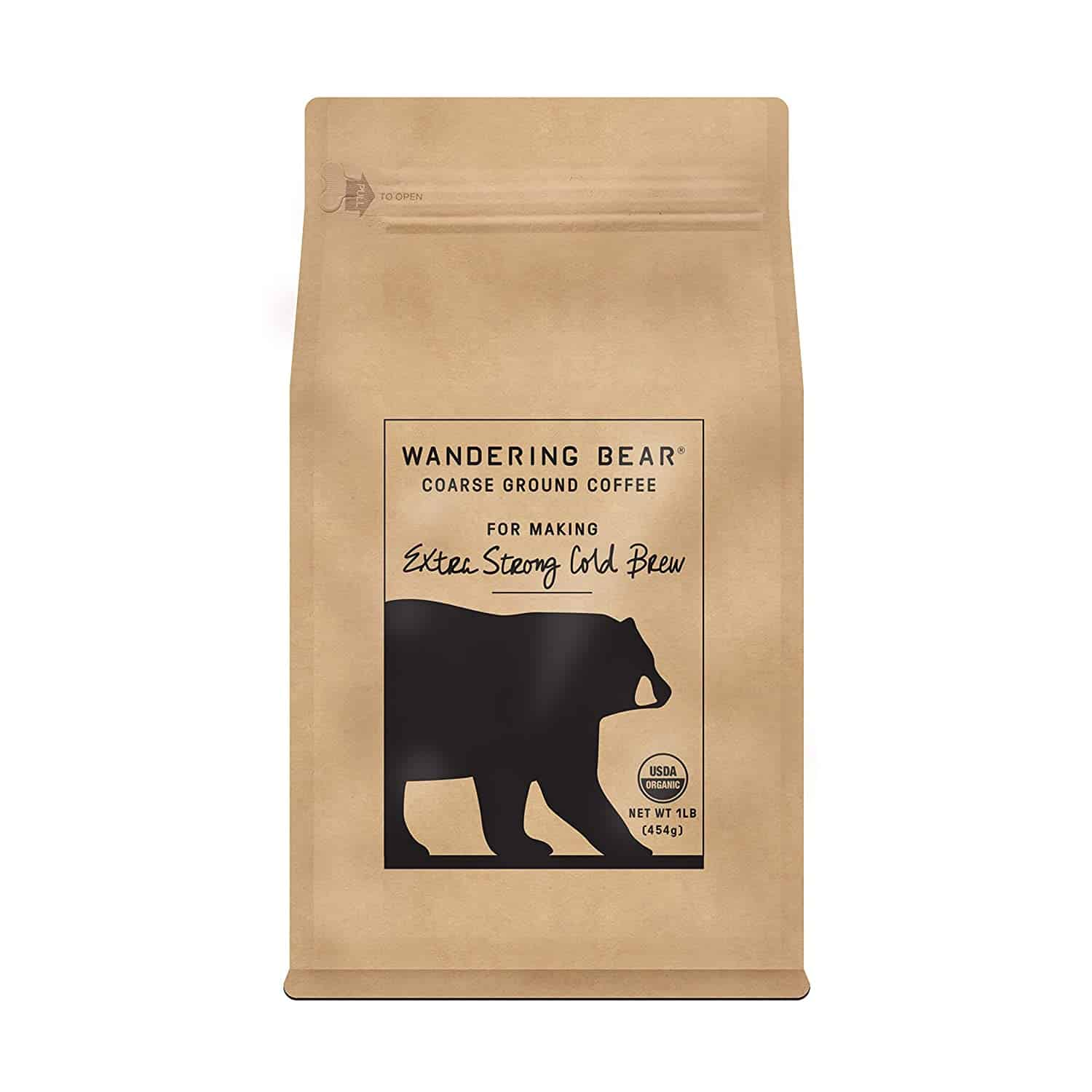 Wandering Bear coffee for cold brew