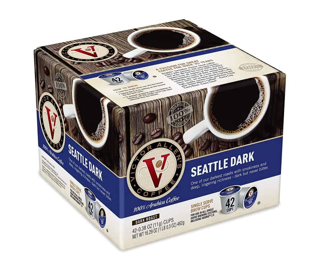 best dark roast k cups by victor allen