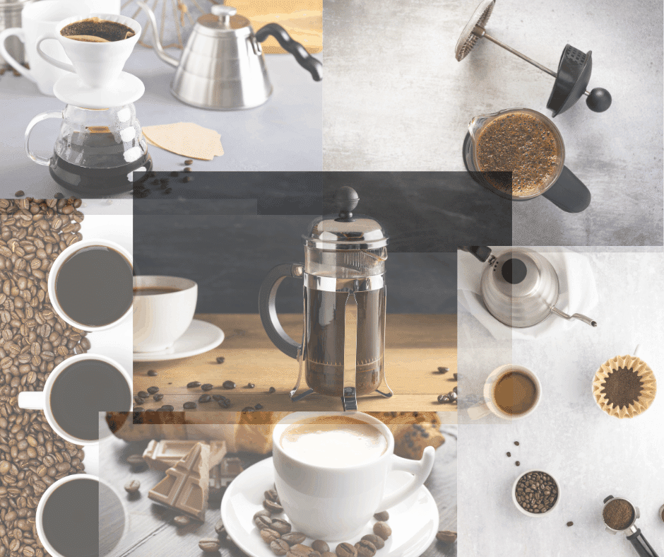 french press or pour over coffee