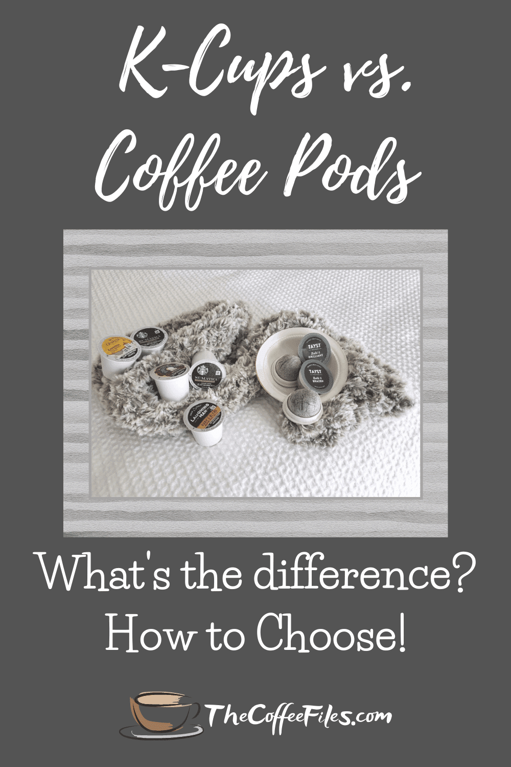 k cups vs pods - whats the difference