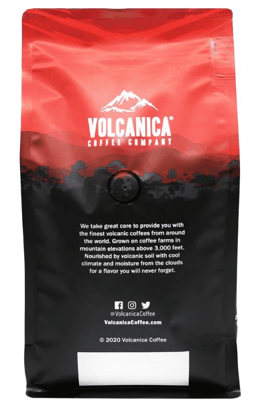 volcanica coffee - best dark roast coffee