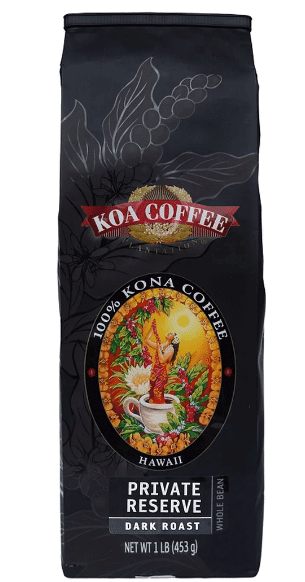 best dark roast coffee - Koa Coffee private reserve dark roast