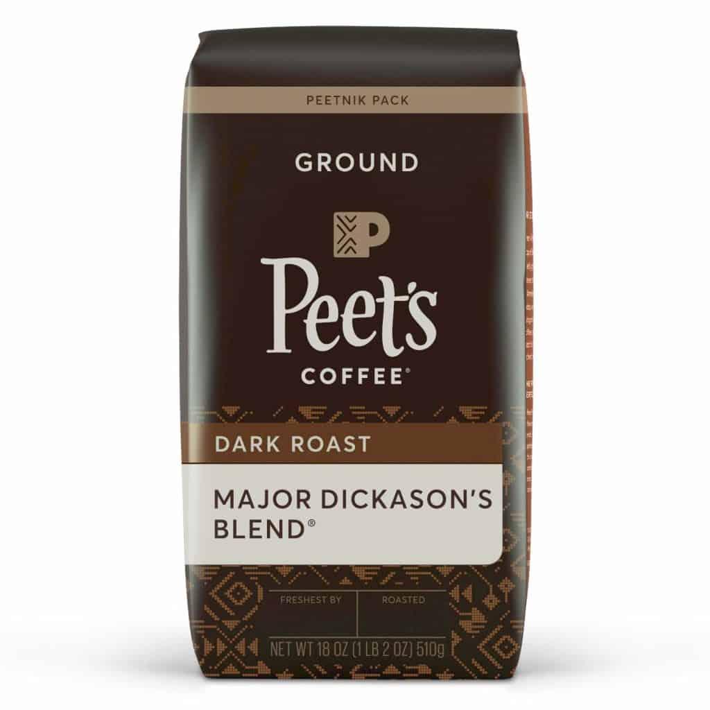 best dark roast coffee - Peets Major Dickason