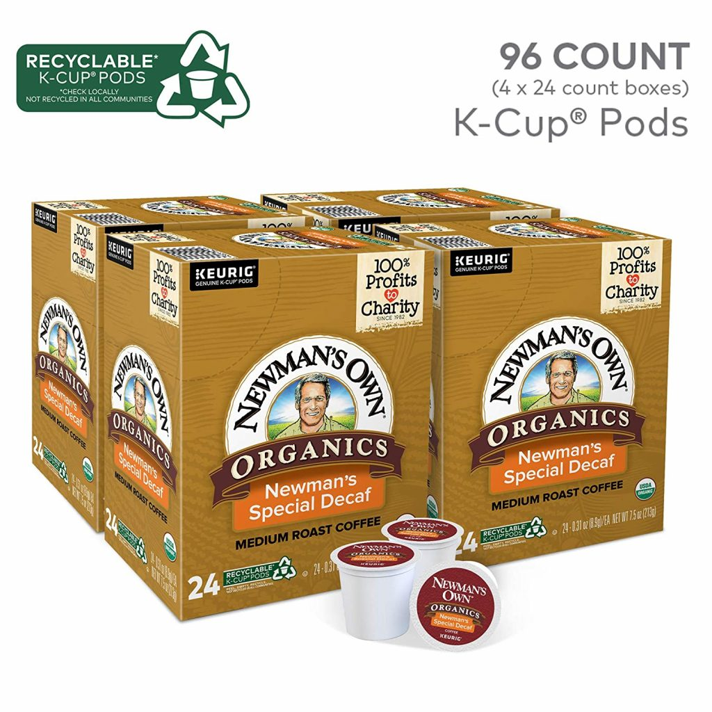 newman's own organic special decaf