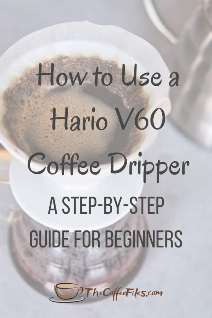 how to use a V60 Hario coffee dripper