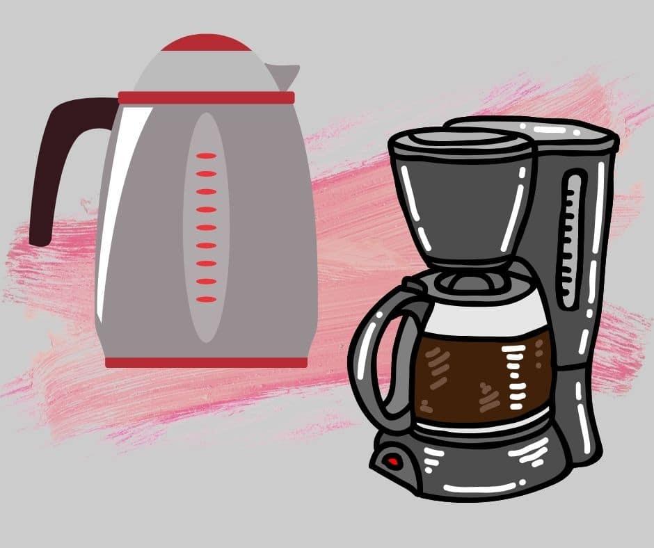 comparing drip coffeemaker coffee to percolator coffee