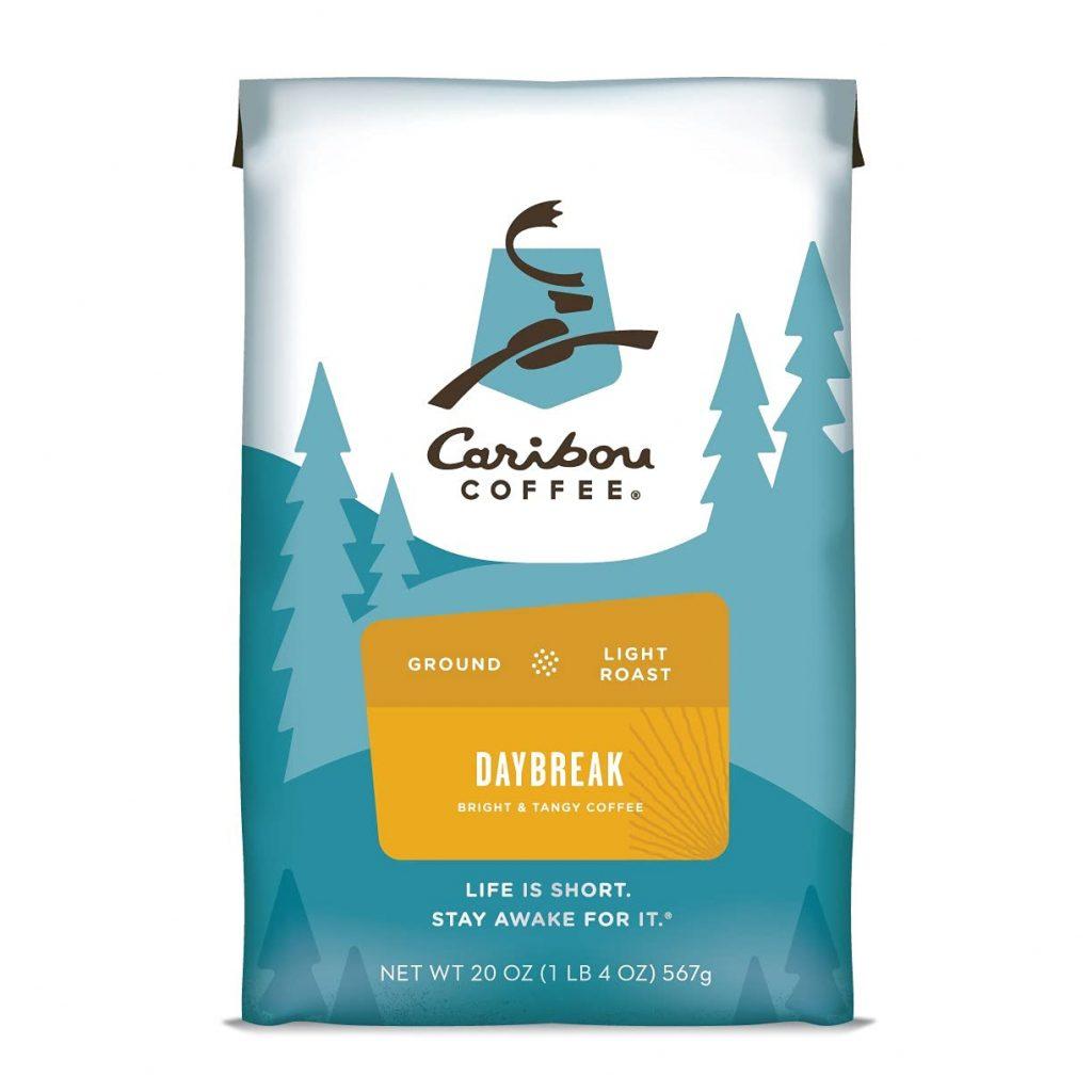 best light roast coffee - caribou daybreak morning blend