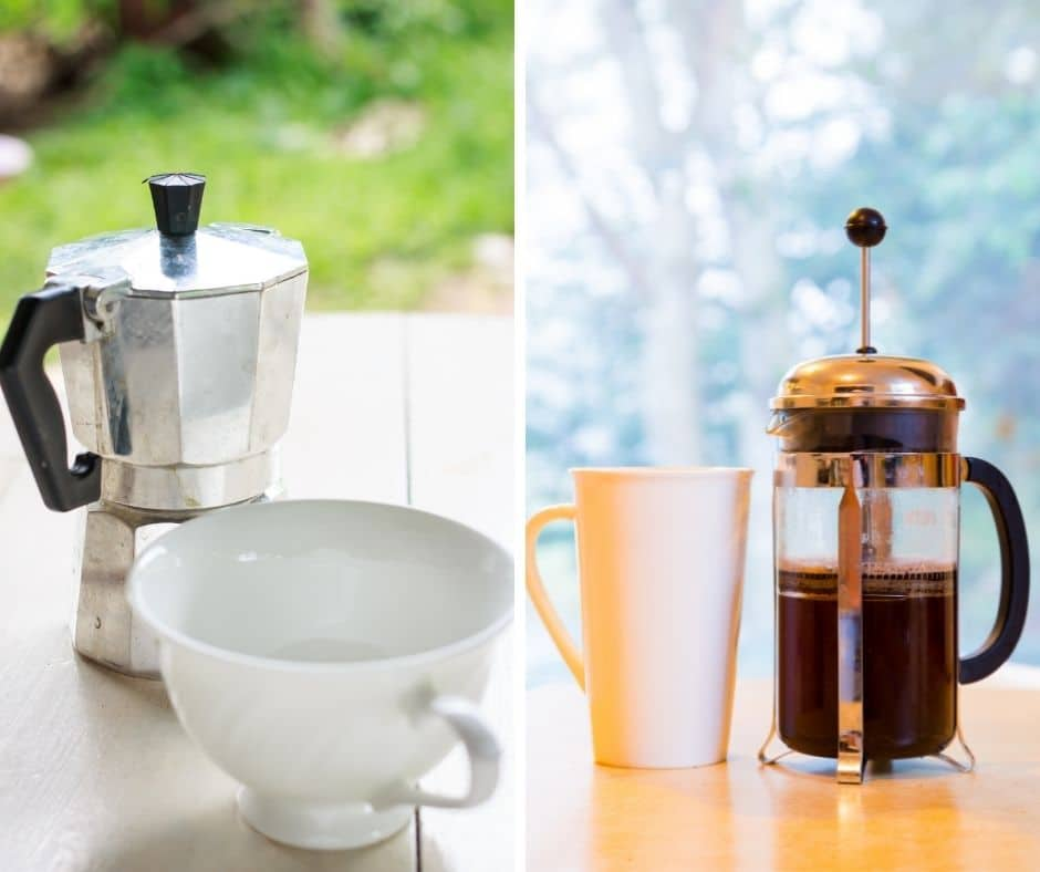 coffee brewing methods that don't require a filter