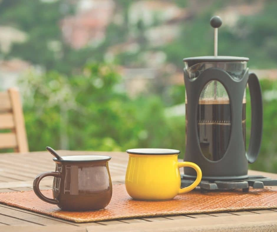 French press tips for making a great cup of coffee