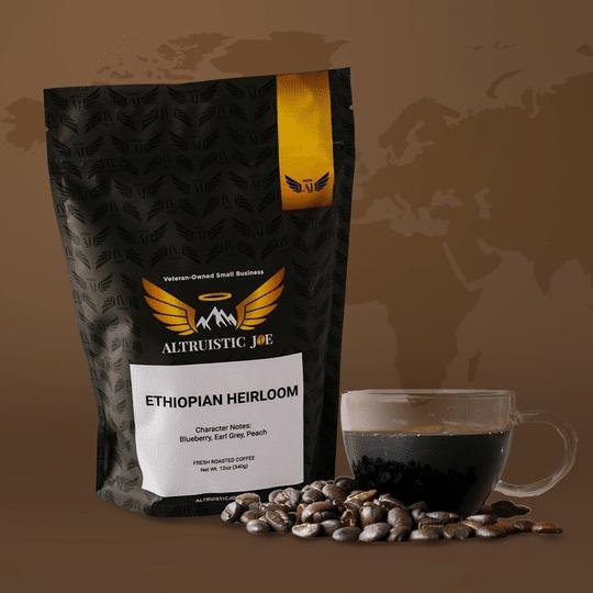 single origin coffees from Altruistic Joe