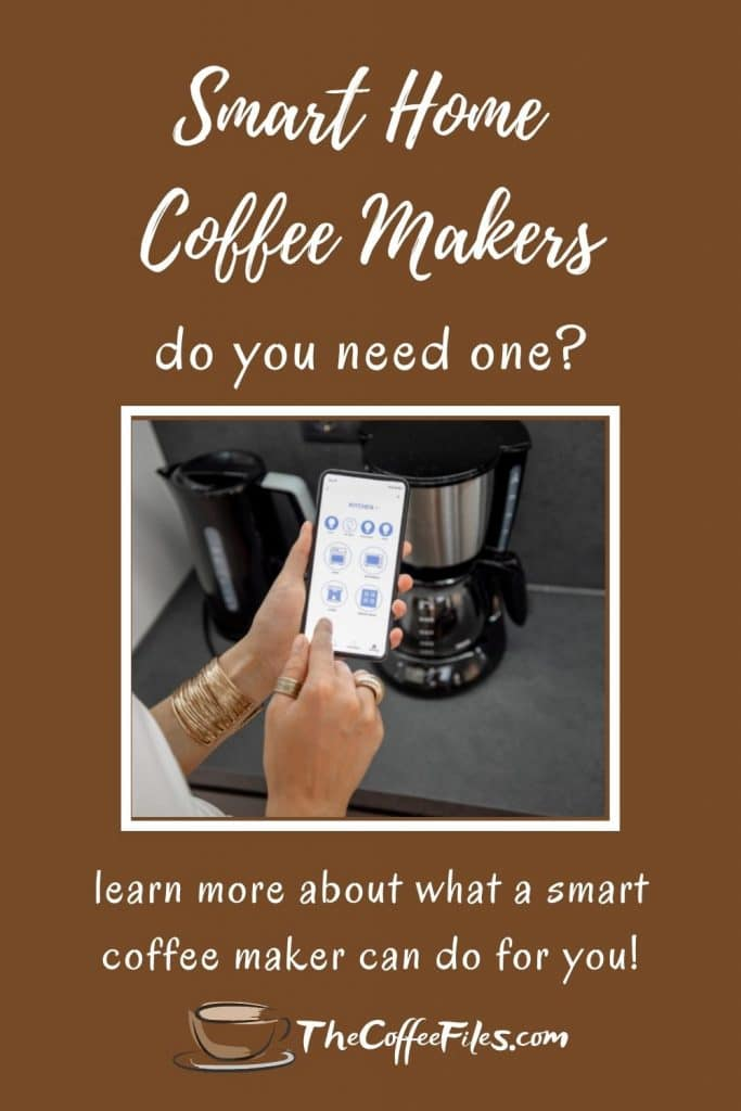 smart home coffee makers - what are they and do you need one?