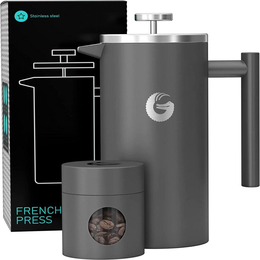 Coffee Gator travel French press