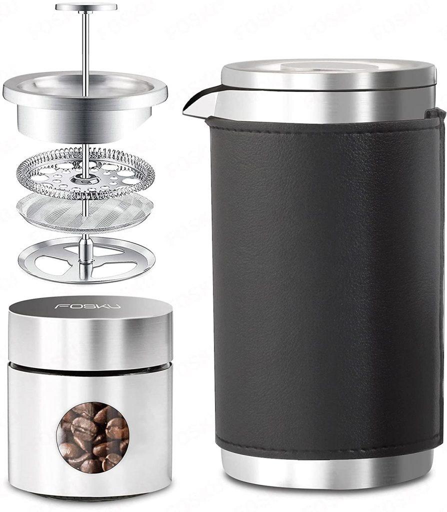 Fosku french press camping coffee maker